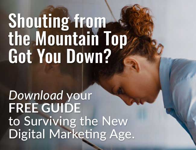 Surviving the New Digital Marketing Age